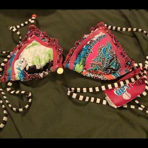 Bikini lab top size small